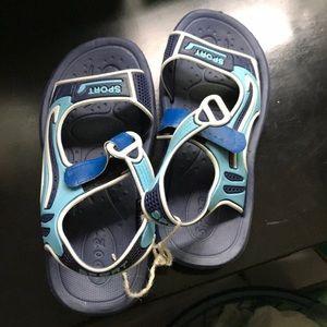Blue kids swim shoes (4)